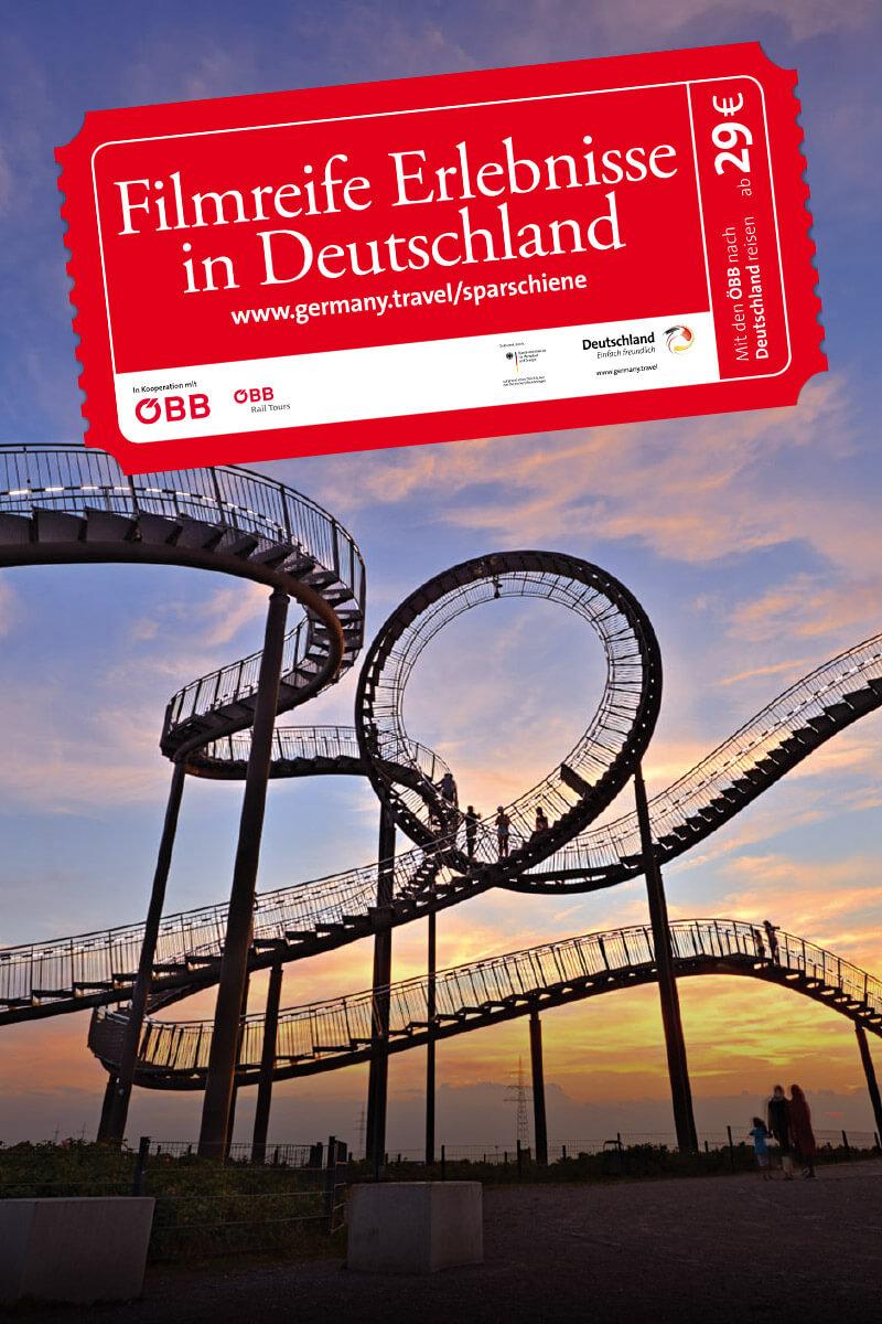"""Deutsche Zentrale für Tourismus """"Kampagne Sparschiene"""""""