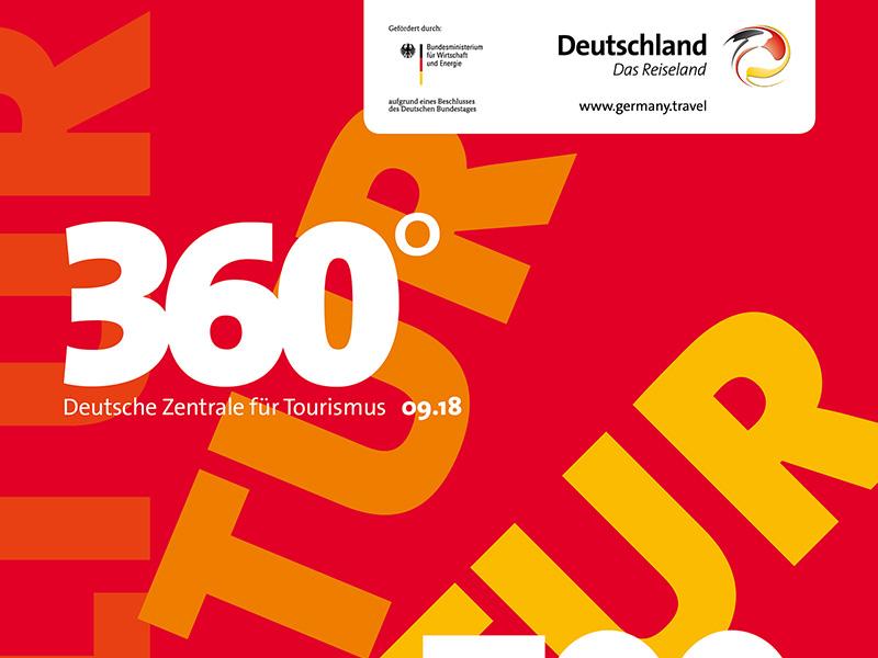 """Deutsche Zentrale für Tourismus """"Magazin 360°"""""""
