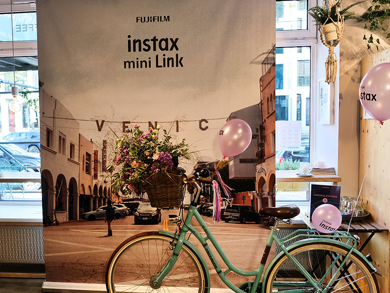 FUJIFILM instax mini Link Launch Event
